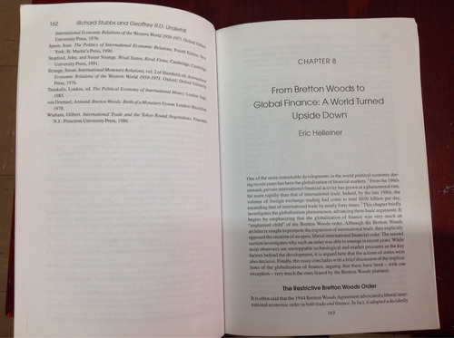 ingles - political economy and the changing global orden