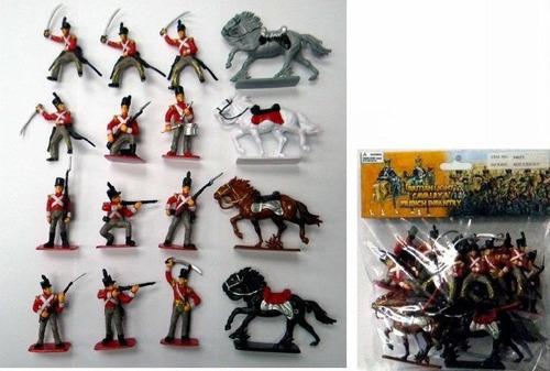 ingleses era napoleonica bmc toys - brinqtoys