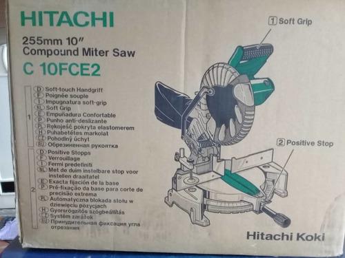 ingleteadora 10 marca: hitachi modelo: c10fce2