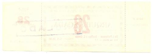 Ingresso 1977 Fluminense X Portuguesa  Botafogo X C Grande 1 - R  20 ... 7629babd79030