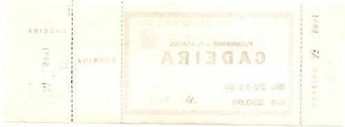ingresso 1980 fluminense x campo grande 22/10
