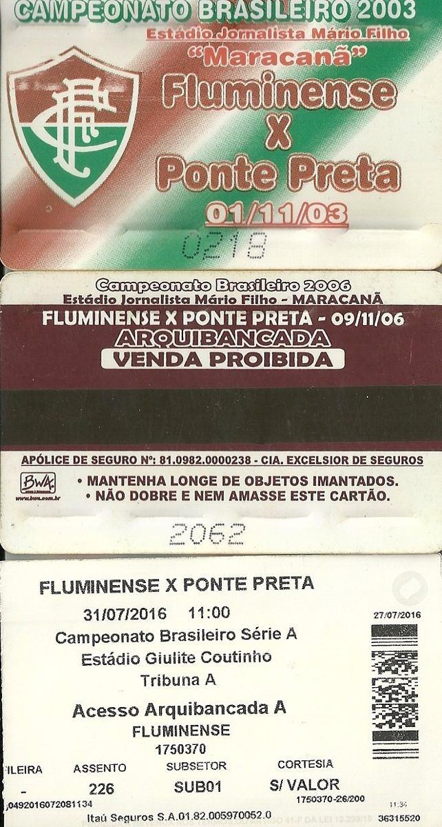 99635c45e7 Ingresso Fluminense H (10) Ponte Preta Sport Vitória - R  34