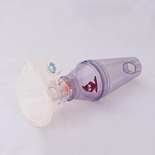 inhalador espaciador para el uso de puffer | la ayuda de ad