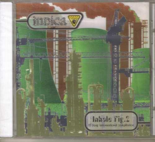 inhale fig. 2 - 13 song international compilation - cd rock