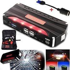 iniciador de batería jumpstarter powerbank cargador + envío