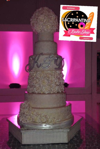 iniciales letras strass topper tortas bodas o 15 años