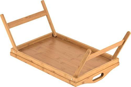 inicio-it mesa bandeja de cama con patas plegables, y una ba