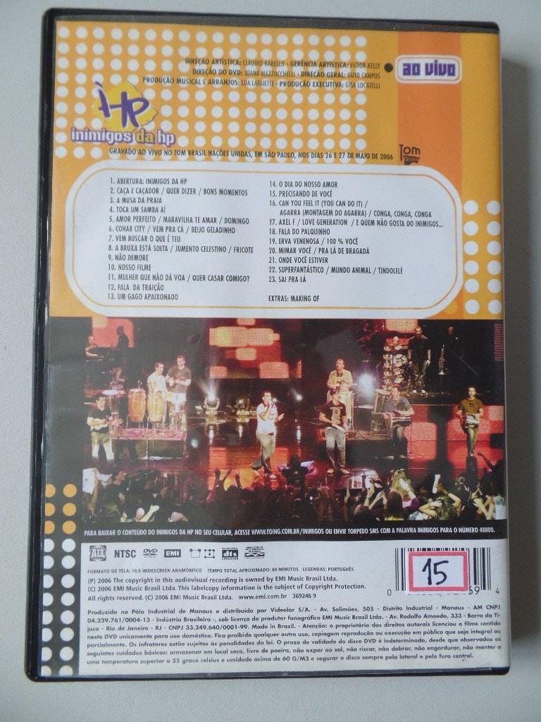 INIMIGOS VIVO 2006 HP BAIXAR CD DA AO
