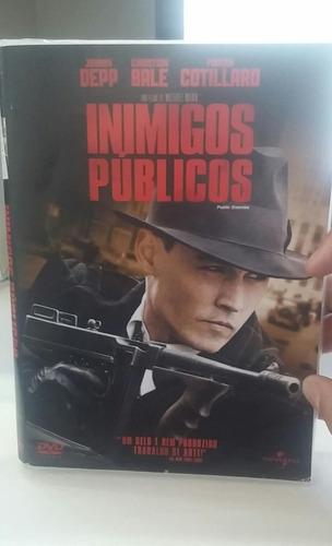 inimigos publicos  -johnny depp -chistian bale -dvd