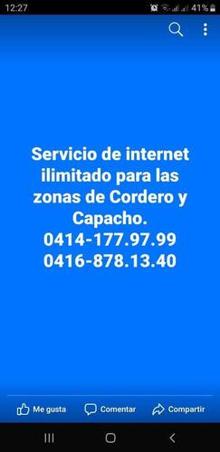 ininternet ilimitado sin línea telefónica.