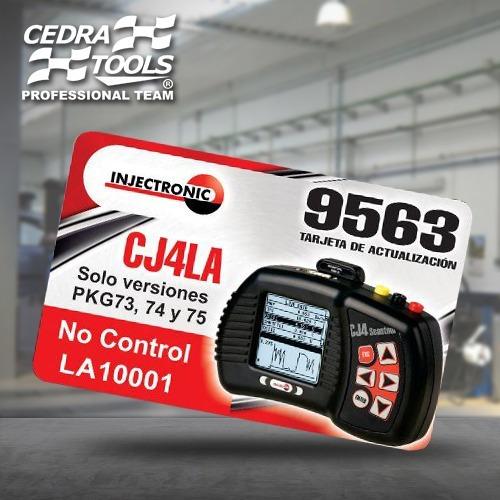 injectoclean 9563 nueva actualización cj4 la