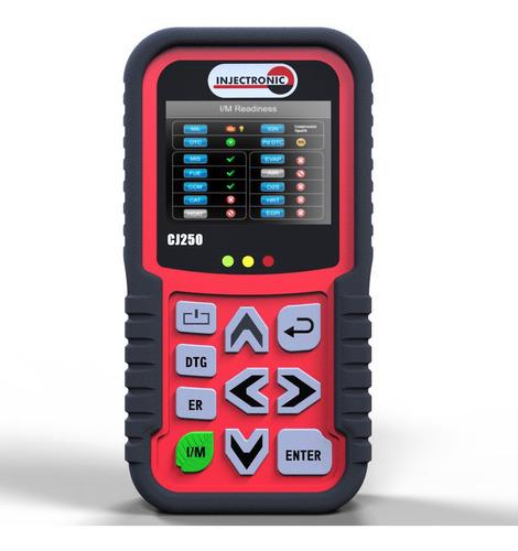 injectronic cj250 escaner automotriz para obd2 con semaforo