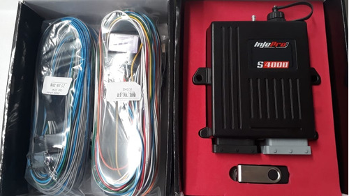 injepro s4000 acompanha chicote, cabos + manual