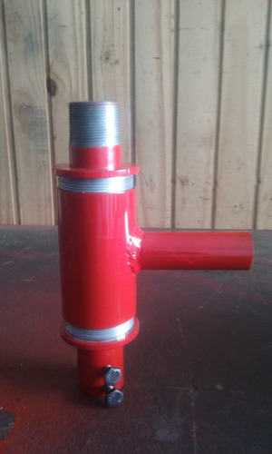 injetor de agua  p/ perfuratriz  c/ gaxeta (cabeça dagua)