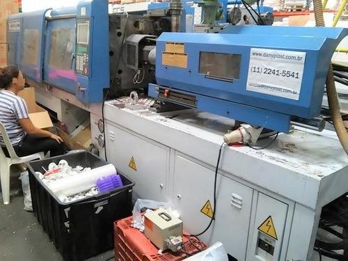 injetora fcs ht 150 ano 2008 (150 ton / 250 grs) trabalhando