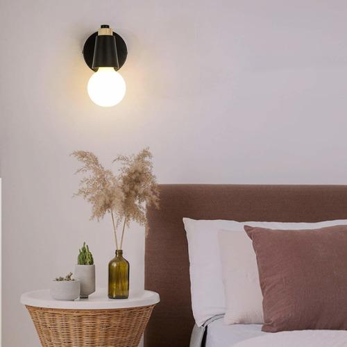 injuicy la vendimia de madera lámparas de pared, minimalist
