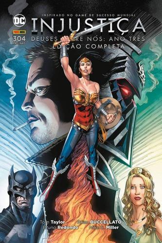 injustiça - deuses entre nós: ano três - edição completa
