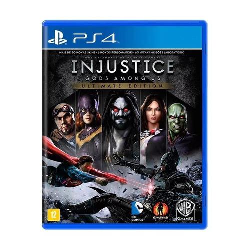 injustice 1 gods among us ultimate edition ps4 mídia física