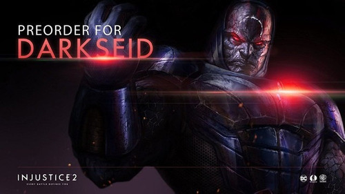 injustice 2 darkseid dlc code para xbox one o ps4