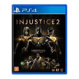 Injustice 2 Legendary Edit. Ps4 Mídia Física Lacrad Nacional
