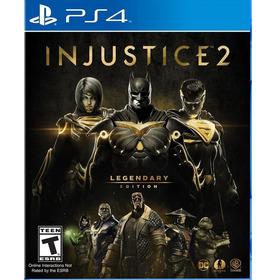 Injustice 2: Legendary Edition - Ps4 Mídia Física Lacrado