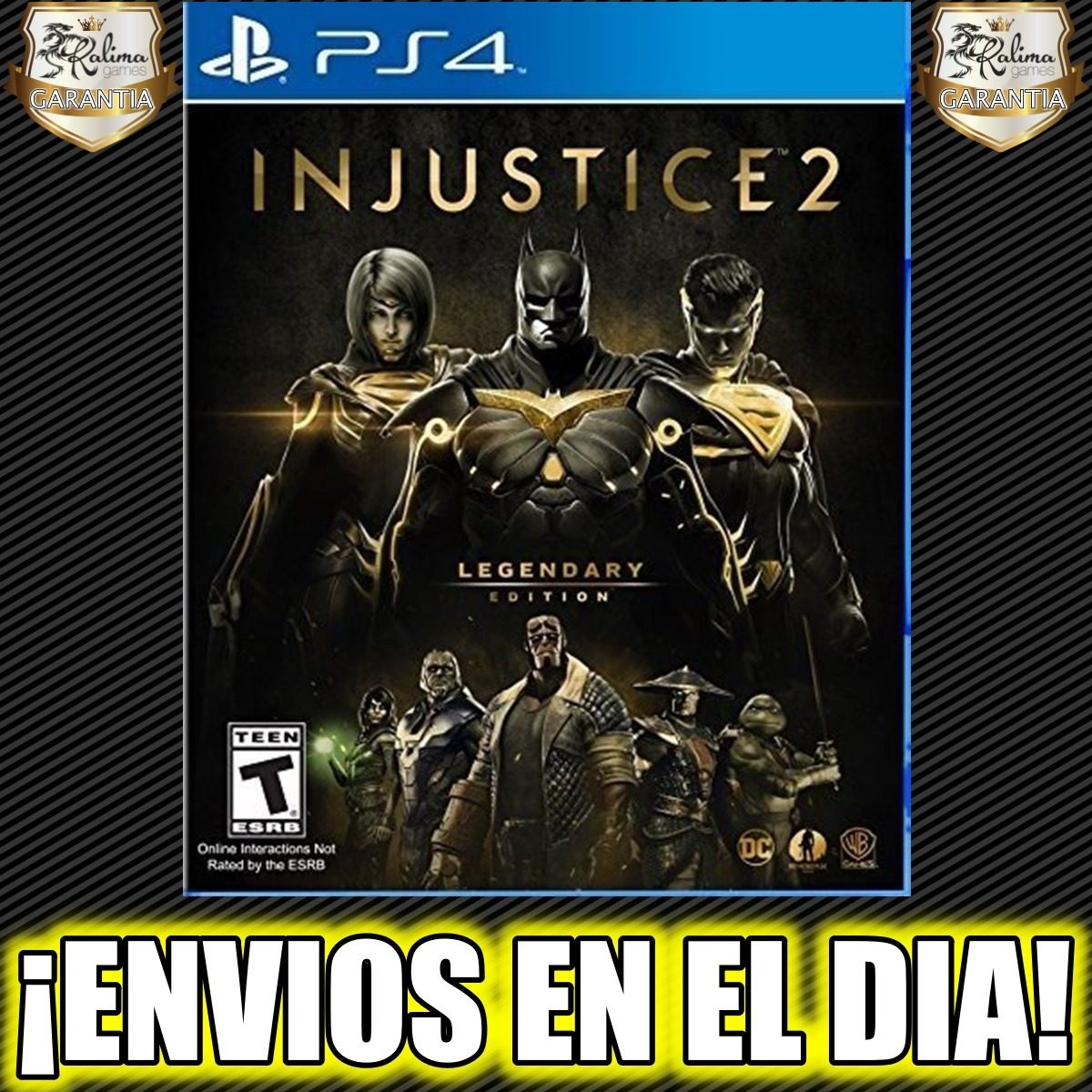 Injustice 2 Legendary Edition Ps4 Juego Digital 2 450 00 En