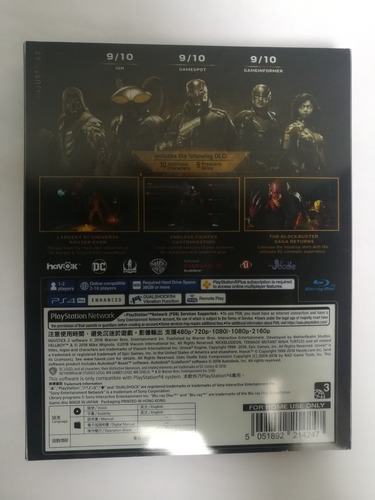 injustice 2 legendary edition steelbook ps4
