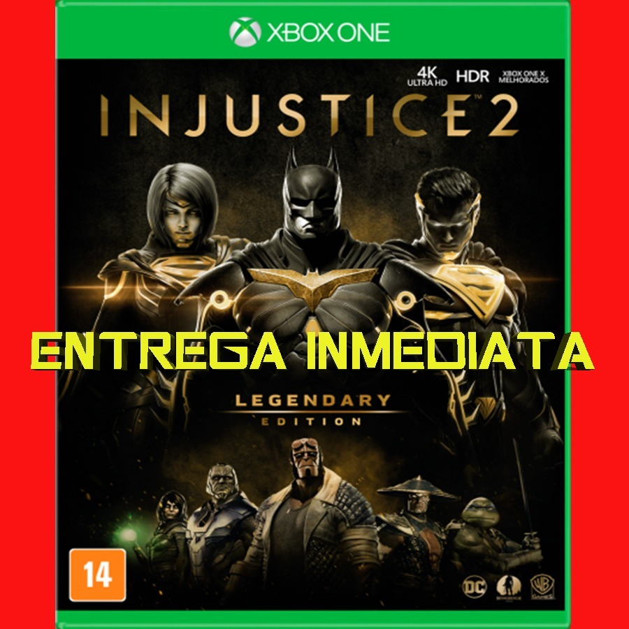 injustice 2 legendary edition xbox one digital
