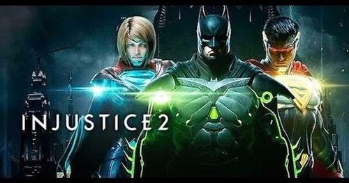 injustice 2 ps4 fisico, nuevo y sellado. español.