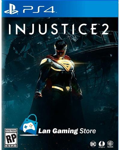 injustice 2 ps4 playstation 4 nuevo y sellado poster gratis