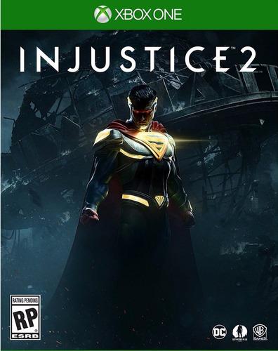 injustice 2 xbox one sellado entrega inmediata