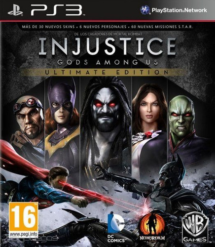 injustice god among us ps3 ultimate edition goroplay digital