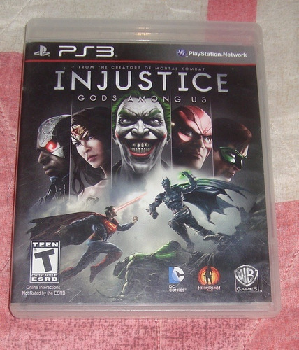 injustice gods among us para ps3