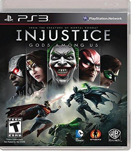 injustice gods among us - playstation 3