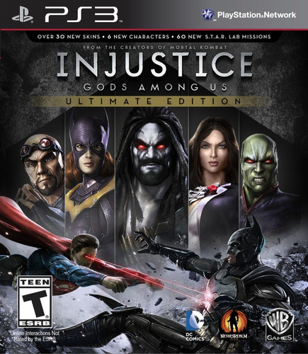 injustice gods among us ue ps3 digital | disponible