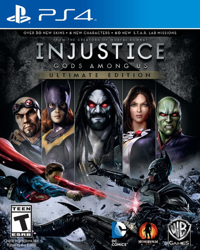 injustice gods among us - ultimate edition ps4