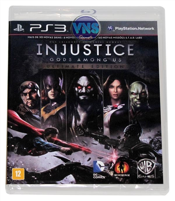 Injustice Gods Among Us Ultimate Edition - Pt-br - Lacrado ...