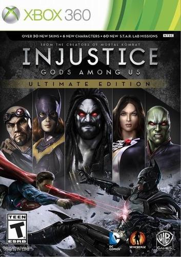 injustice gods among xbox 360