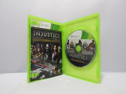 injustice: gods among xbox 360