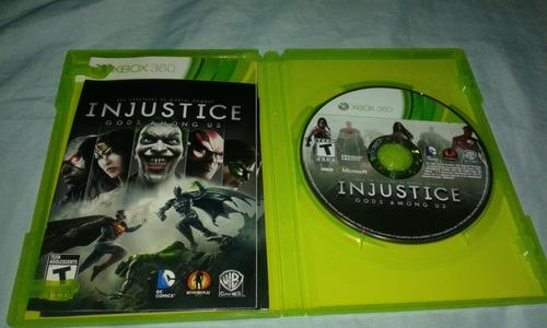 injustice videojuego para xbox
