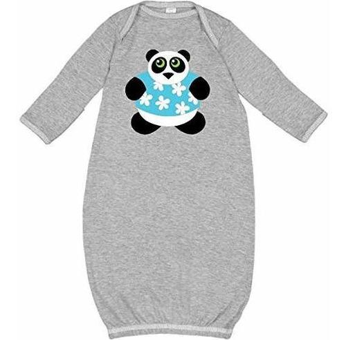 inktastic - lindo hawaiano panda oso recien nacido layette 1