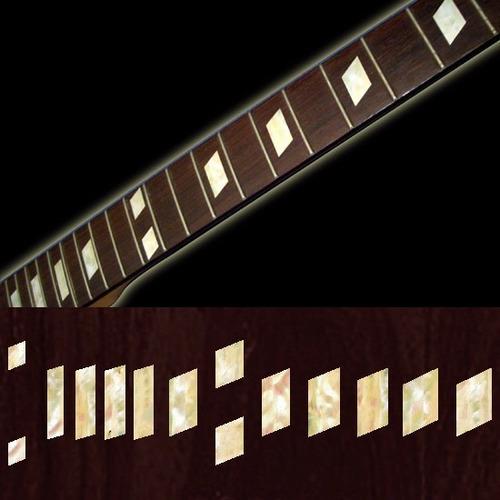 inlays stickers adhesivos para guitarras y bajos
