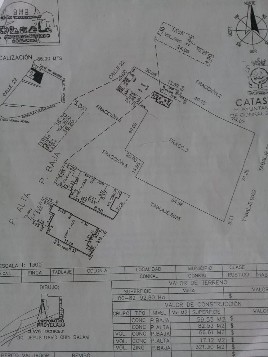 inmejorable terreno en venta en conkal, excelente ubicación
