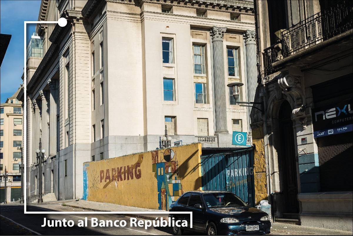 inmejorable ubicación y metraje: junto bco república central