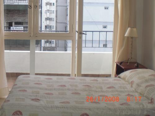 inmejorable zona!!! dpto 1 amb con balcón. dic/ene/feb/mar.