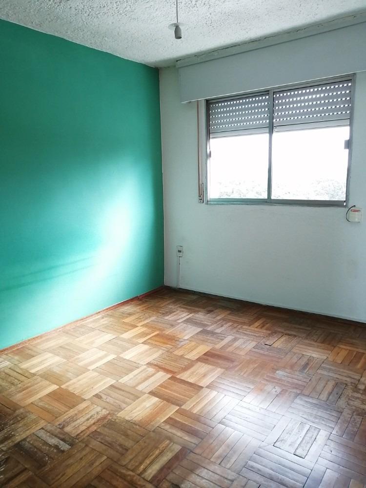 inmobiliaria verde alquila al frente 2 dorm vista despejada