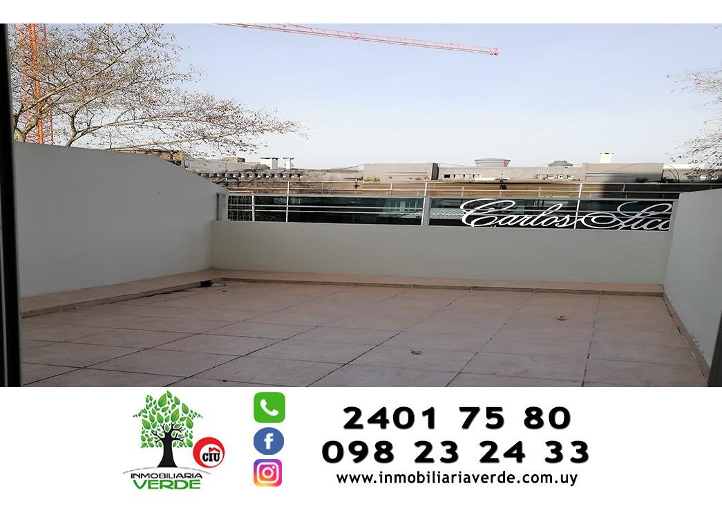 inmobiliaria verde vende 1 dormitorio 60 m2 más terrazas gge