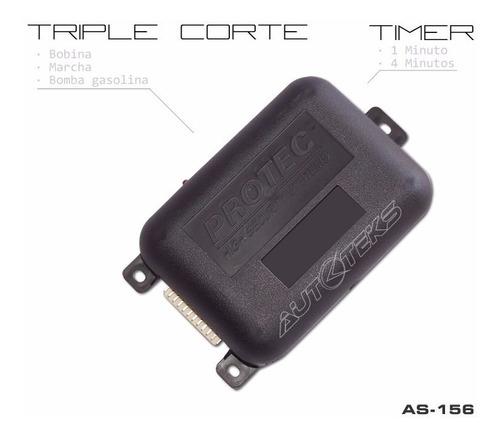 inmovilizador de motor corta corriente 1 ó 4 minutos as-156