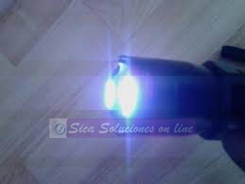 inmovilizador electrico taser lampara de electroshock led q5
