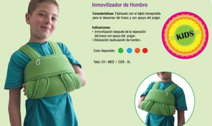 Inmovilizador Infantil De Hombro Cabestrillo Pediatrico -   415.00 ... aa2bd62c9e72
